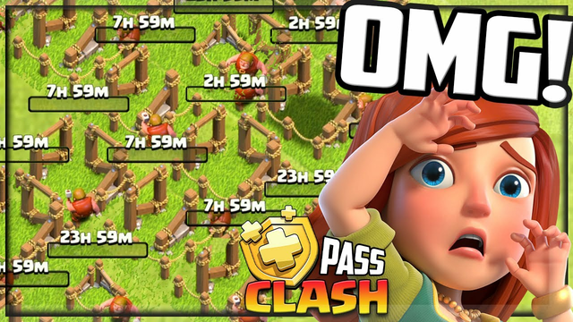 SO MANY Upgrades! Clash of Clans Gold Pass Clash #81