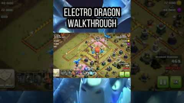 Electro Dragons Walkthrough Clash Of Clans TH 13