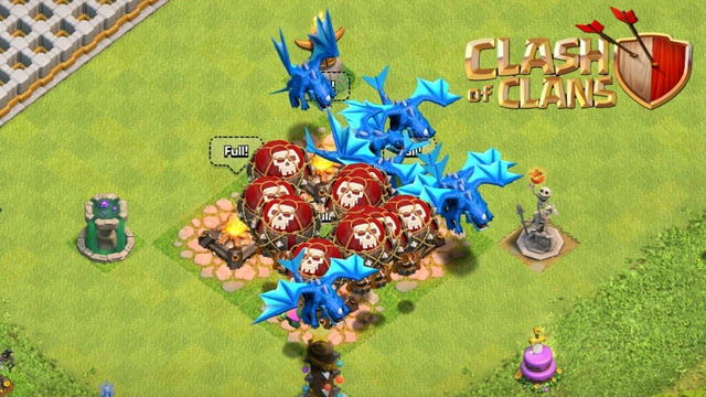 Back to using electro dragons / clash of clans-coc