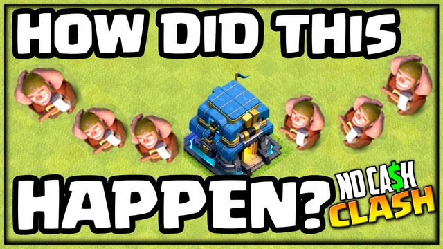 How?! ALL Builders Free in Clash of Clans! No Cash Clash #208