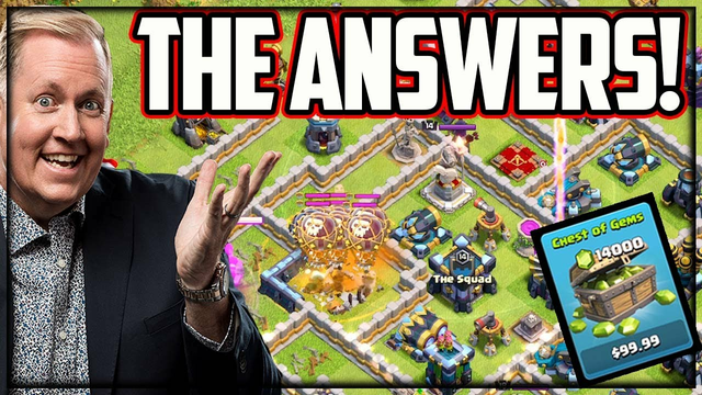 Update? Burnout? NEW Games? Clash of Clans Questions!