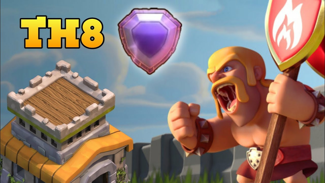 Coc Live - Th8 Legend Pushing & Gold Pass WINNER SELECTION
