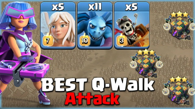 Queen Never Dies!  Perfect Your Queen Walk with This Strategy - Clash Of Clans