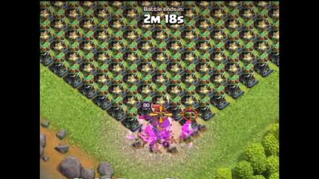 How Many Hidden Tesla Can A Barbarian King Destroy | Clash Of Clans