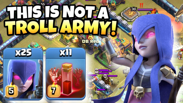 This ALL WITCH attack just BROKE Clash of Clans! Best TH14 Attack Strategies