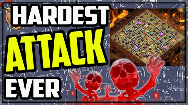 The Single HARDEST Attack Strategy in Clash of Clans!