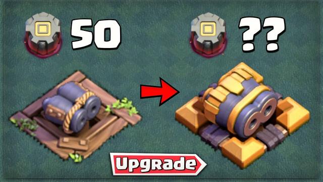 Defense Upgrade Cost - Builder Base   Clash of Clans