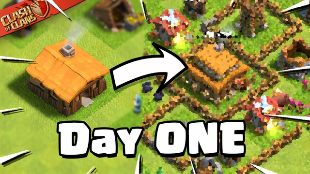 My 24 Hour Progress in Clash of Clans!