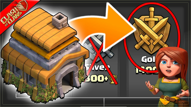 Pushing my TH6 into Gold League! (Clash of Clans)