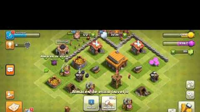 ayuntamiento nivel 3 clash of clans desde zero #1