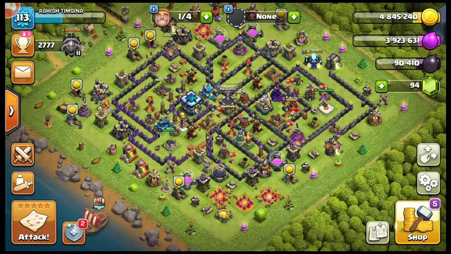 LET'S PLAY CLASH OF CLANS.