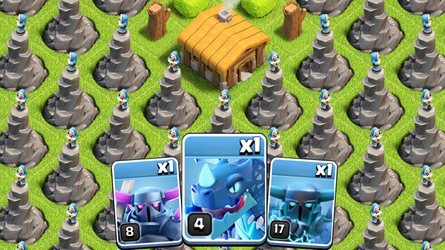 Full Base of Level 1 Wizard Tower vs Coc Every Single Troop   Part - 1