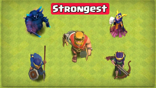 Strongest Creature in Clash of Clans