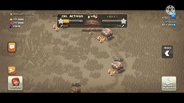 chinos derrotados en clash of clans