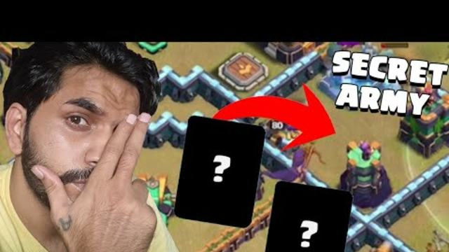 Super Secret Unstoppable Army In Clash Of Clans | Coc