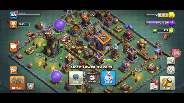 Watch me stream Clash of Clans on Omlet Arcade!89