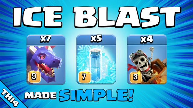 DRAGONS + FREEZE = EPIC!!! TH14 Attack Strategy | Clash of Clans