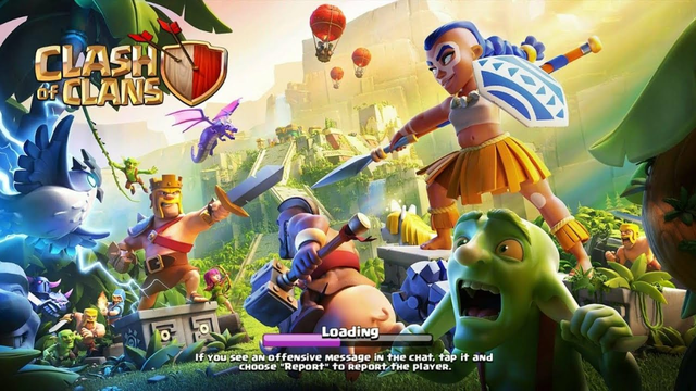 CLASH OF CLANS   E-DRAG LOONS ATTACK    CLANMATES  ATTACK