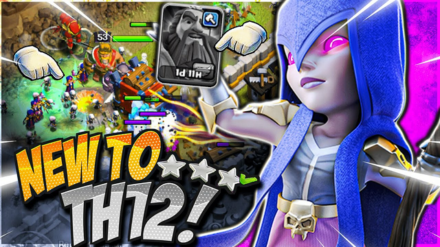 EASIEST New to TH12 Attack Strategy for 3 Stars! (Clash of Clans)