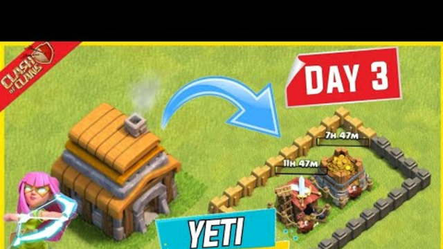 Clash of Clans Day 3 ... ! All Town Hall Yeti Pekka Quake Attack Guide...