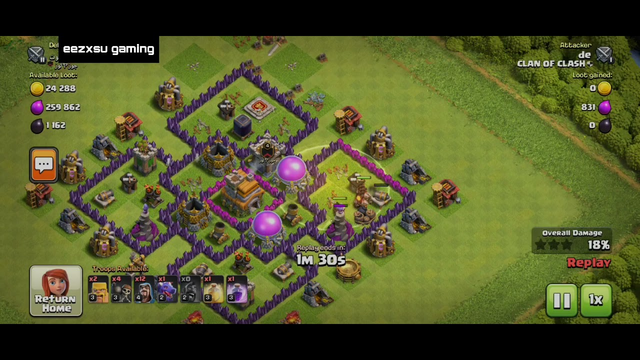 RAREST WIN IN CLASH OF CLANS | WON THE MATCH JUST AT 0 SECONDS | TH LEV 7 ATTACK | coc attacks #1