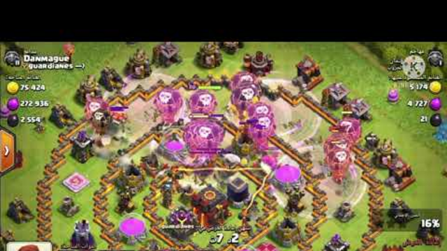 The strongest and best strategy to survey Town 10 |  Clash of clans