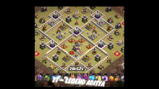 Zap Dragloon Clash Of Clans Best Strategy For Th11  #viralshorts   #shorts