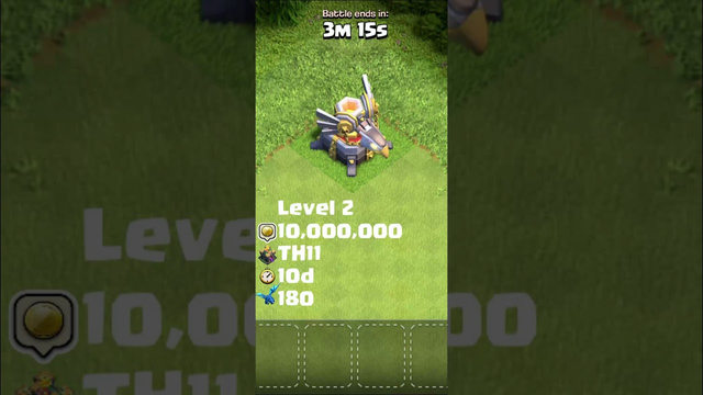 Eagle Artillery All Levels + Animation + Cost + TH Level + Time + Troops To Trigger | Clash of Clans