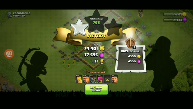 Town Hall 5 Clash of Clans