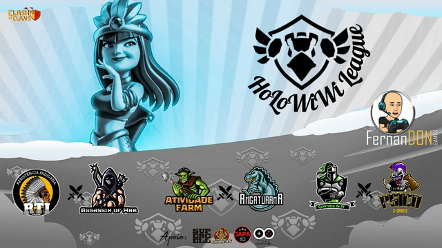 HOLOWIWI LEAGUE - CLASH OF CLANS - #don40k