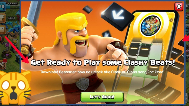 Clash of Clans/Get Ready To Play Some Clashy Beats /Full Detial