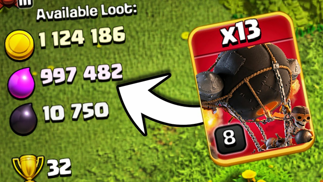Rocket Loons Are OP! Clash of Clans.COC