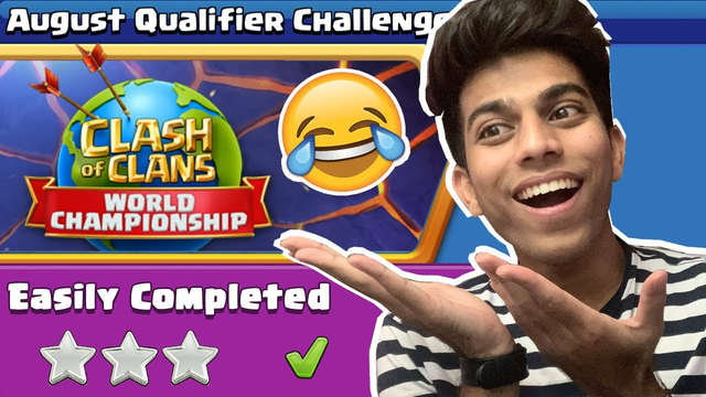 Supercell Gave us Impossible Challenge - August Qualifier Challenge Clash of clans - COC