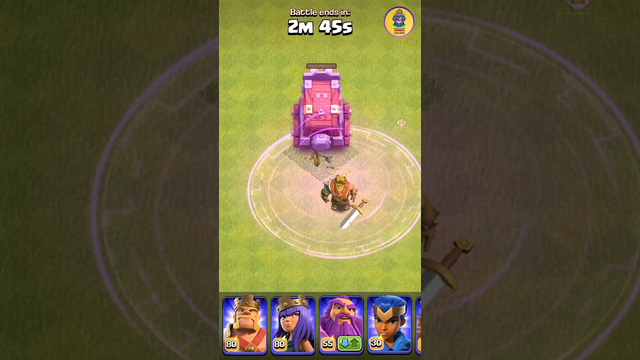 Wall Wrecker vs Barbarian King | Clash of Clans #shorts #clashofclans #coc