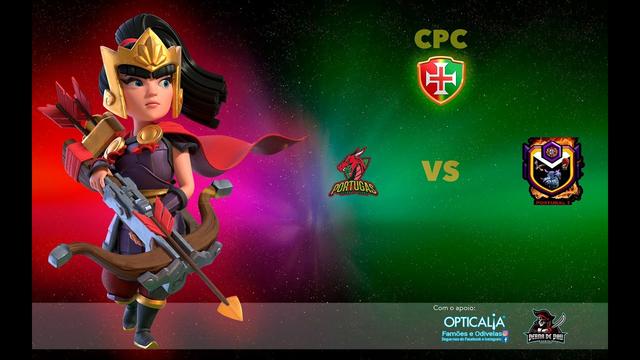 Campeonato Portugues de Clash of Clans Portugas vs Portugal 1