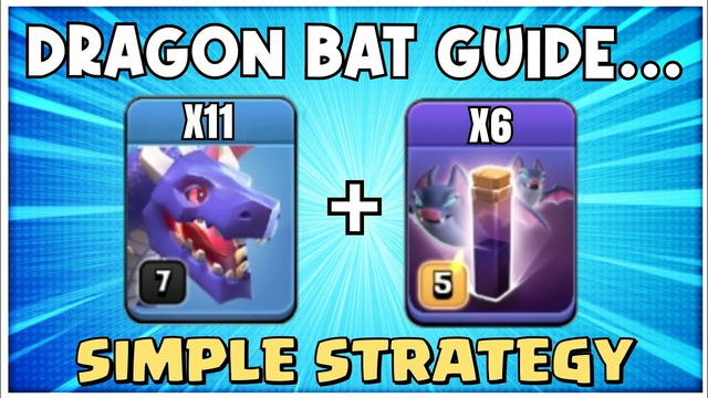 EASY 3 Stars at TH12! BEST TH12 Attack Strategy Clash of Clans/Th12 War attack Strategy Drag BAt #06