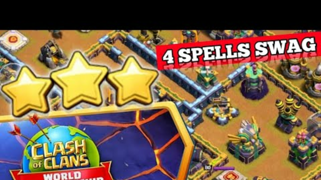 How To Complete New Event in coc | Clash Worlds August Qualifier Challenge With Swag Spells | coc