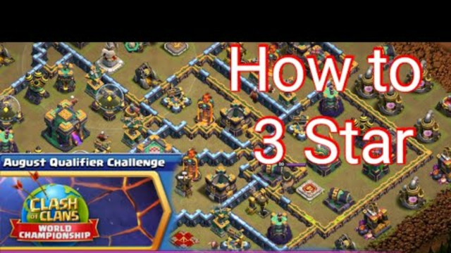 August Qualifier Challenge |Clash Of Clans |
