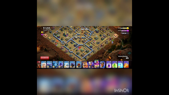 3 Star the August Qualifier challange ( clash of clans)