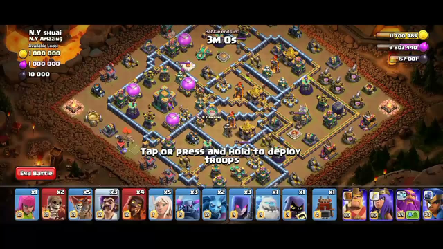 How to 3 star August Qualified Challenge | clash of clans