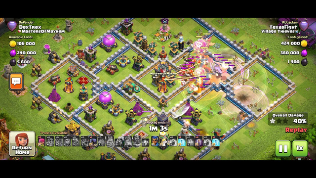 anti 3 star push trophy base any league clash of clans