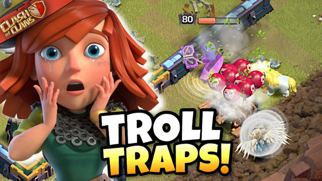 6 Red Bombs INSTANTLY ended this Attack! 200 IQ TRAP TRICK! Clash of Clans eSports