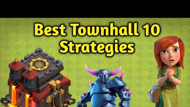 Best townhall 10 strategies   Clash with leo   clash of clans malayalam