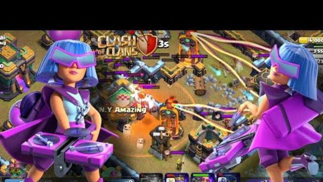 How to 3 Star    August Qualifier Challenge   Clashing Barbarian    Clash of Clans