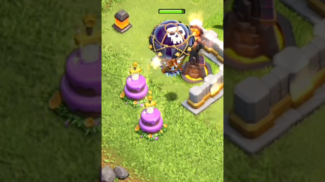 Inferno vs balloon Clash of Clans #short#coc