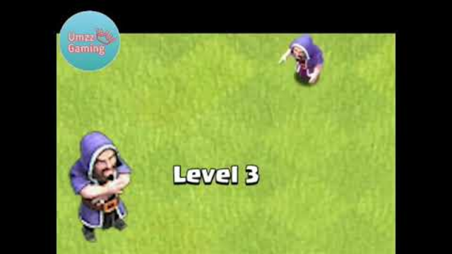 Wizard Troops Level 1 To Max Level In Clash Of Clans || Umzz Gaming