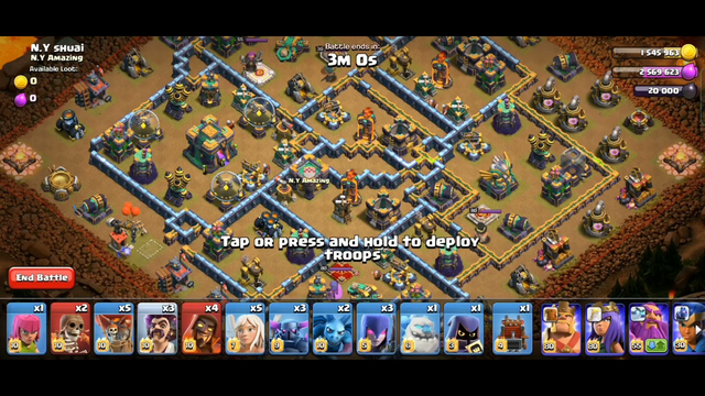 Easily 3star for the August Qualifier Challenge (Clash Of Clans)