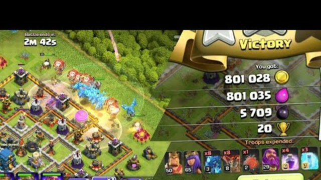 TH12 Electro Dragon Attack Strategy / Clash Of Clans #5