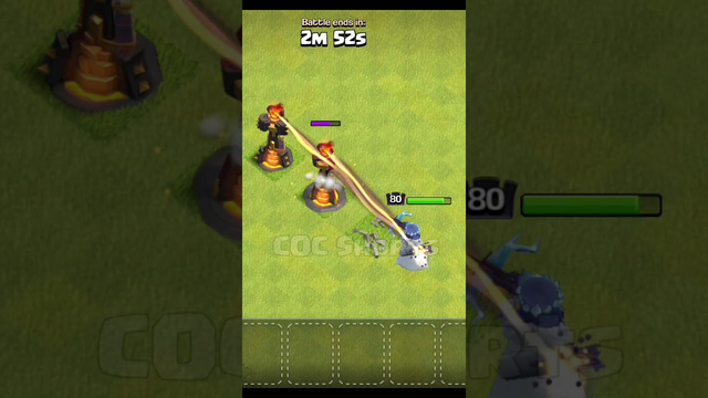 1-3 Inferno tower Formation vs Archer Queen Clash of Clans #Shorts #cocshorts