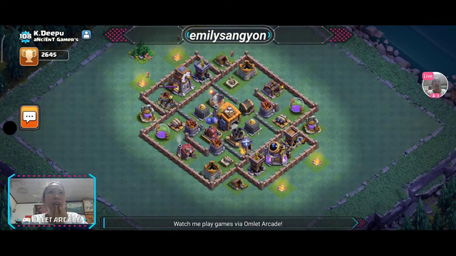 Watch me stream Clash of Clans on Omlet Arcade! Sweetest Monday 20 2nd Good day